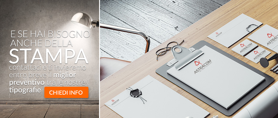 web agency grafica e stampa