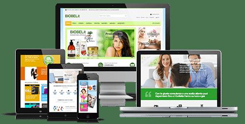 realizzazione siti web design responsive