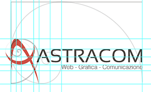 logo Astracom sezione aurea