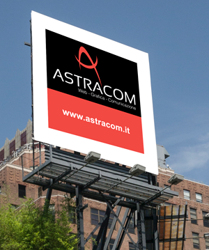 maxi cartellone pubblicitario - astracom