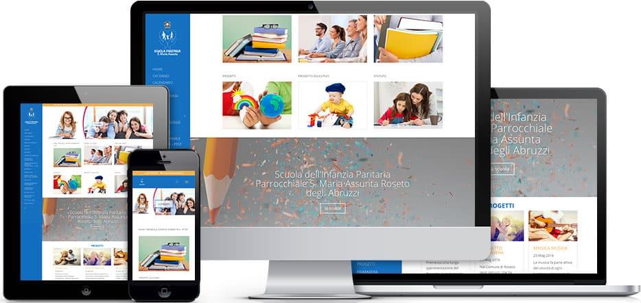 Realizzazione sito scuola paritaria infanzia