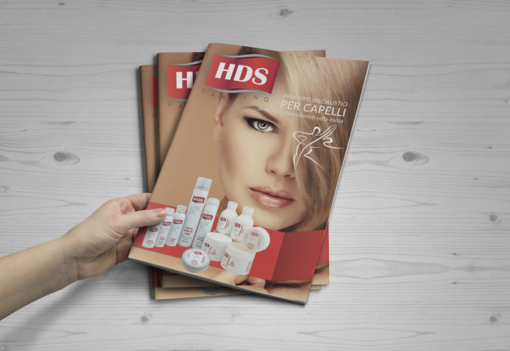 Realizzazione catalogo prodotti per capelli HDS