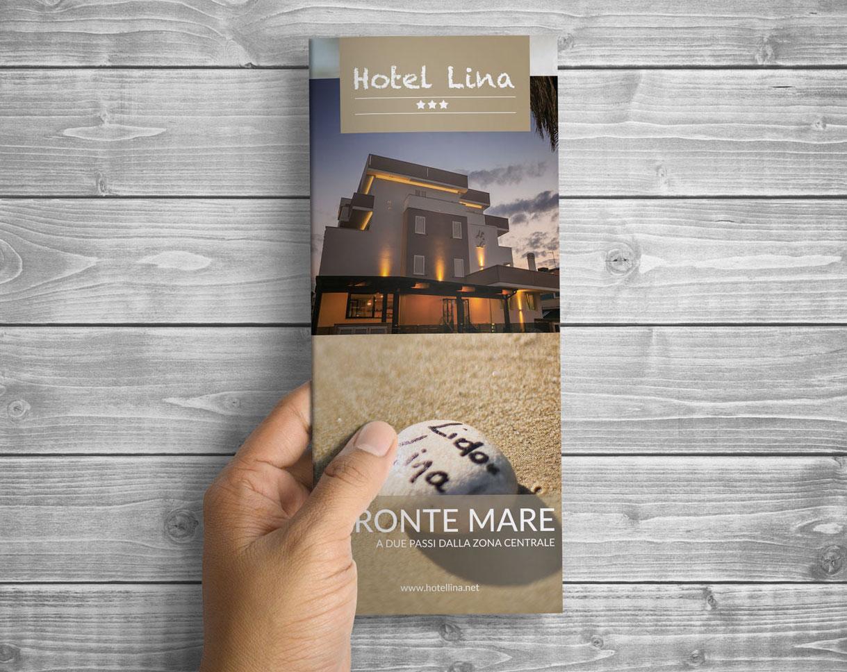 Realizzazione brochure Hotel Lina