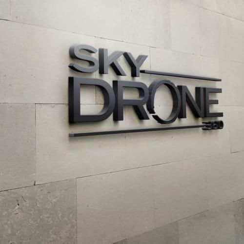 logo skydrone