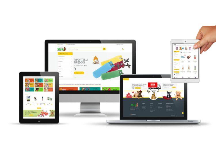 Realizzazione sito ecommerce prodotti per animali