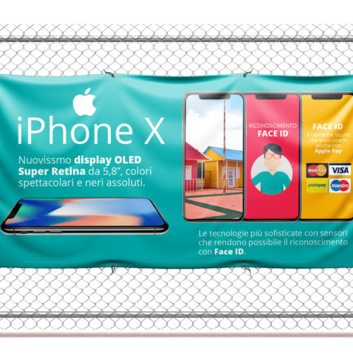 banner pvc iphone x