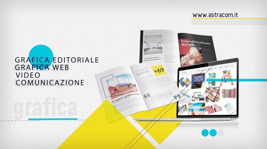 Video spot per agenzia di comunicazione e grafica