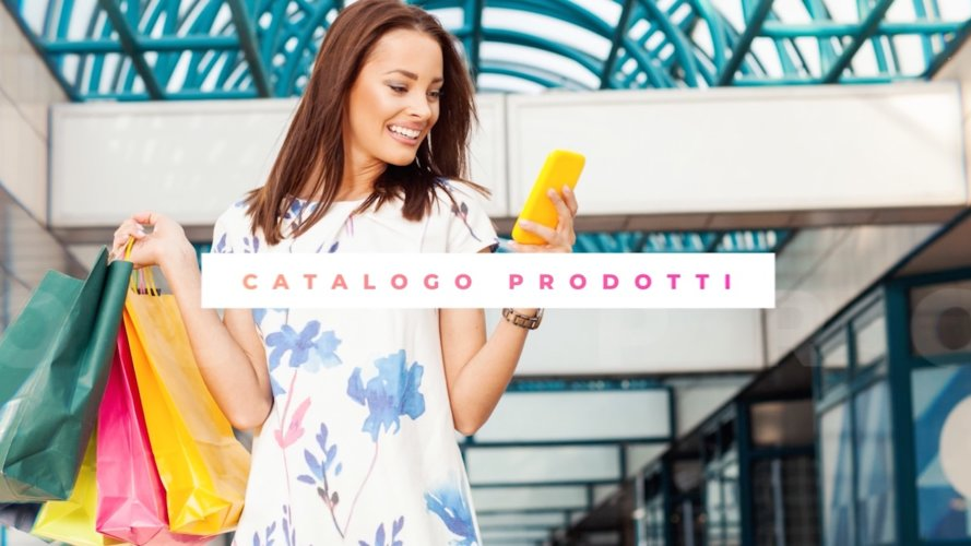 Video spot presentazione software per e-commerce