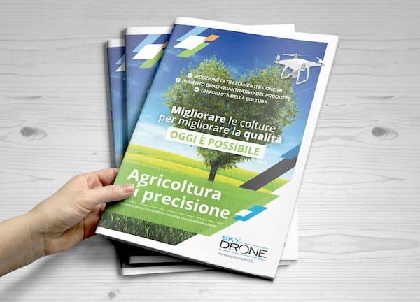 Grafica + Stampa Brochure Agricoltura di precisione