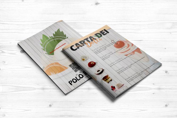 Grafica menu dolci – catalogo