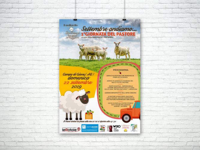 """Locandina evento """"Giornata del pastore"""""""