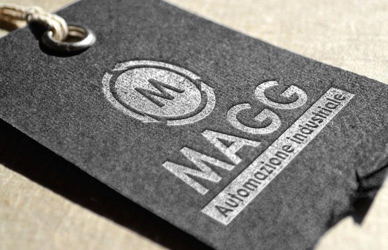 Immagine coordinata azienda MAGG