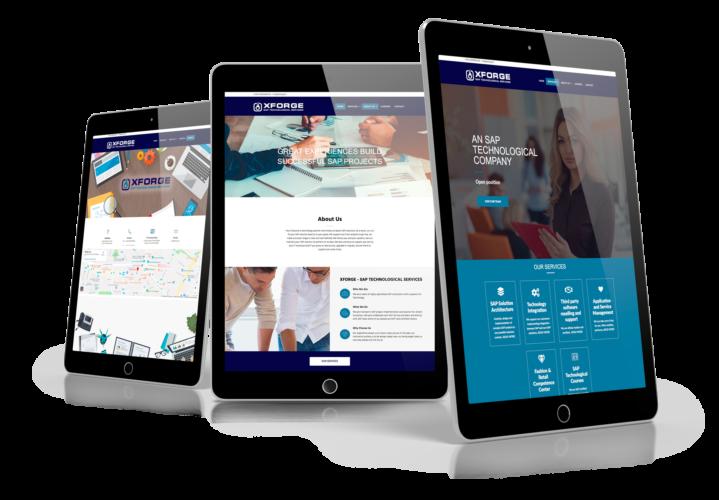 Realizzazione sito web Xforge – Sap Technological Company