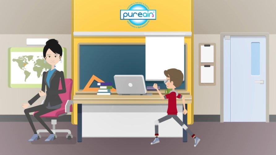 Video sanificazione ozono Pure Air