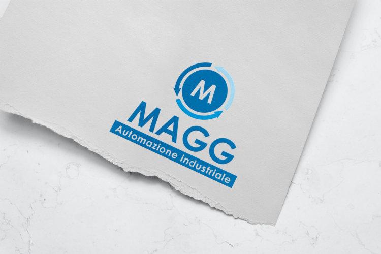 Realizzazione logo Automazione Industriale MAGG