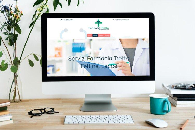 Sito web Farmacia Trotta