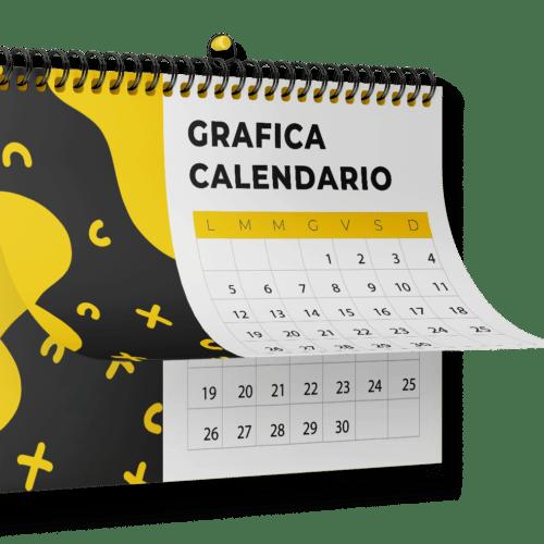 grafica calendario